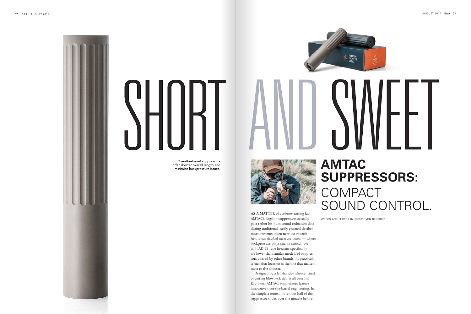 Guns and Ammo AMTAC Suppressors